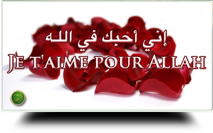 Je taime pour Allah
